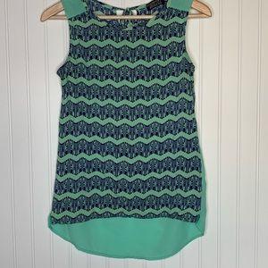 Papermoon Stitch Fix sleeveless blouse size S
